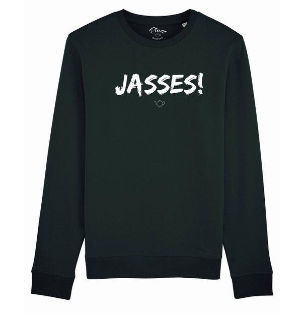SWEATSHIRT Keerls - Jasses! - Schwarz