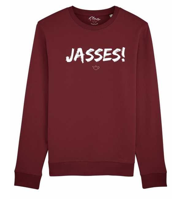 SWEATSHIRT Keerls - Jasses! - Weinrot