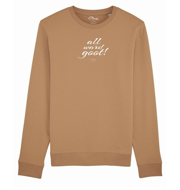 SWEATSHIRT Keerls - All ward goot! - Beige
