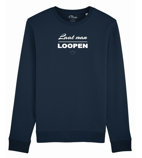 SWEATSHIRT Keerls - Laat man Loopen - navy Blau
